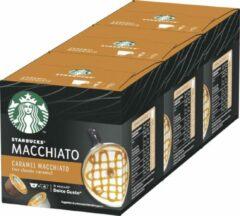 Starbucks by Dolce Gusto capsules Caramel Macchiato - 36 koffiecups - geschikt voor 18 koppen koffie