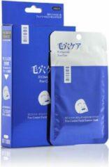 Witte Mitomo Japan Mitomo™ Charcoal Gezichtsmasker - Anti Aging Face Mask - Gezichtsverzorging Masker