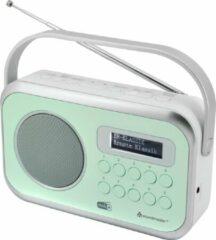Groene Soundmaster DAB270GR Desk radio DAB+, FM AUX, DAB+, FM Green