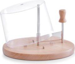 Zeller Present Käseschneide-Set mit Haube, Buche, Ø 22,5 x 15 cm