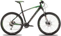 Montana Bike 27,5 Zoll Mountainbike Montana Urano 20... schwarz-grün, 48cm