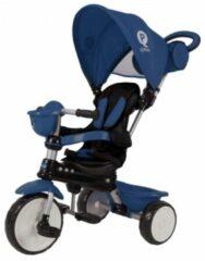 QPlay Driewieler Comfort 4 in 1 - Jongens en Meisjes - Donkerblauw