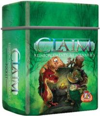 Groene White Goblin Games uitbreiding Claim Reinforcements: Mercenaries Pocket (NL)