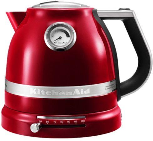 Afbeelding van Rode Kitchen Aid KitchenAid 5KEK1522ECA - Waterkoker - Appel Rood