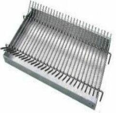 Roestvrijstalen Intergard Aslade barbecue beton incl. vuurrooster in RVS 304 50x29cm