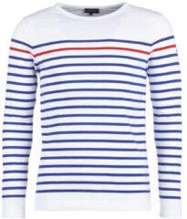 Blauwe T-Shirt Lange Mouw Armor Lux YAYAYOUT