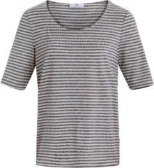 Gestreept shirt met korte mouwen Van Peter Hahn multicolour