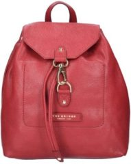 Plume Soft Donna Rucksack Leder 30 cm The Bridge rosso ribes