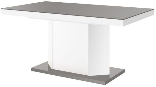 Uitschuifbare Eettafel 160 Cm.Grijze Hubertus Meble Uitschuifbare Eettafel Anton 160cm Tot 260cm
