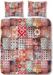 Dekbedovertrek Ernesto - Multi - Lits-jumeaux (240 x 200/220 cm) - Katoensatijn - Rood   Meerkleurig   Multi   Multicolor - ZouZou