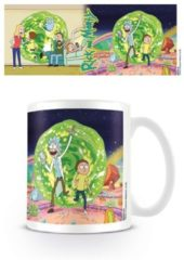 Witte Cartoon Network RICK & MORTY - Mug - 300 ml - Portal