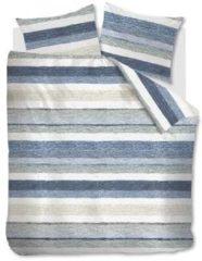 Blauwe Ariadne At Home Colour Blush Dekbedovertrek - Lits-jumeaux (240x200/220 Cm + 2 Slopen) - Katoen - Blue