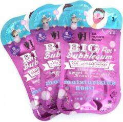 Dr Van der Hoog Dr. van der Hoog Big Fun Bubblegum Masker (3 sets van 2 maskers)