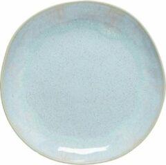 Costa Nova - servies - dinerbord Eivissa - zeeblauw - aardewerk - set van 6 - rond 28 cm