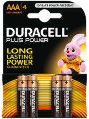 DURACELL® Batterien Plus, Mignon AA o. Micro AAA, 1,5 V, 4 Stück