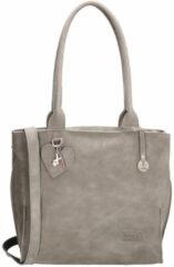 Zwarte SoDutch Bags Shopper #10 Licht Grijs