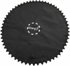 Zwarte Etan Premium Trampoline Springmat - Ø 305 cm / 10 ft - 72 ogen