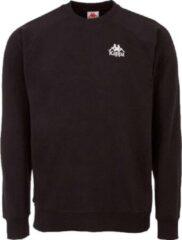 Kappa Taule Sweatshirt 705421-19-4006, Mannen, Zwart, Sporttrui casual, maat: L EU