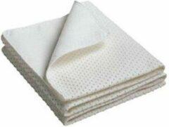 Witte Bed-Fashion Matrasdek met noppen 140 x 200 cm