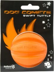 Dog Comets Dog Comets Ball Swift Tuttle - Hondenspeelgoed - 7 cm Oranje Medium