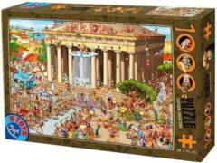 Dtoys Cartoon Acropolis Puzzel 1000 Stukjes