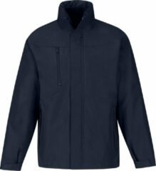 Marineblauwe B and C B&C Heren Corporate 3-In-1 Hooded Parka Jacket (Marine)