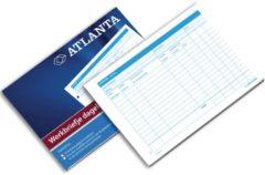 Bruna Werkbriefje Atlanta A5425-014 A5 dagelijks 50vel