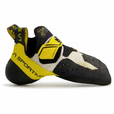 Afbeelding van La Sportiva - Solution - Klimschoenen maat 34, zwart/oranje