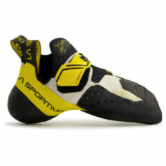 Beige La Sportiva Solution Agressieve klimschoen voor ervaren klimmer 40,5