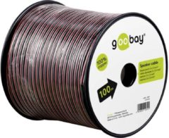 Rode Speaker cable red/black 25 m roll, cable diameter 2 x 1,5 mm? - Goobay