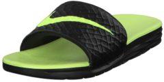 Badelatschen Benassi Solarsoft Slide 2 705474-091 Nike Black/Volt