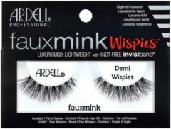 Zwarte Ardell - Faux Mink Lashes Black Demi Wispies