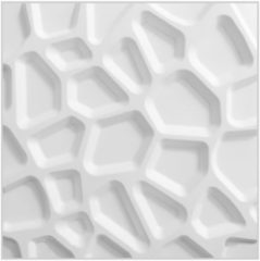 Witte WallArt 3D Wandpanelen Gaps 12 stuks GA-WA01