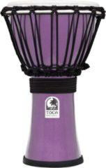 Toca TFCDJ-7MV Freestyle Colorsound Djembe Metallic Violet djembé