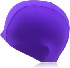 #DoYourSwimming - Badmuts voor volwassenen - »Guppy« - kwaliteitsstof - perfecte pasvorm en extra oorbescherming - lila