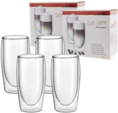 4x Scanpart Cafe Latte Thermo Glazen - 35cl