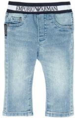 Blauwe Straight Jeans Emporio Armani Ange