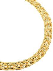 Gele Visgraatketting Golden Style geel