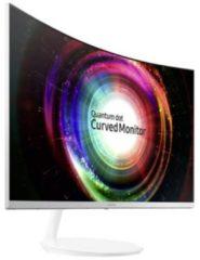 Samsung C27H711QEU LED-monitor 68.6 cm (27 inch) Energielabel C (A+++ - D) 2560 x 1440 pix WQHD 4 ms HDMI, DisplayPort VA LED