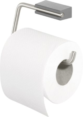 Afbeelding van Donkergrijze Tiger Cliqit Toiletrolhouder - RVS Geborsteld / Donkergrijs