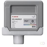 CANON PFI-302PGY inktcartridge foto grijs standard capacity 330ml 1-pack