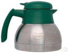Grijze Douwe Egberts Thermoskan koffie / thee 0,9 Liter