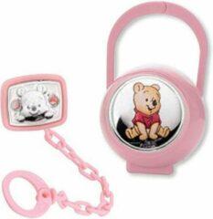 Roze Disney Winnie baby brooch +case pink