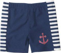 Blauwe Playshoes Palyshoes UV Protection Shorts Maritime navy/white 74/80