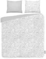 Grijze ISeng Paisley - Dekbedovertrek - Tweepersoons - 200x200/220 cm + 2 kussenslopen 60x70 cm - Grey