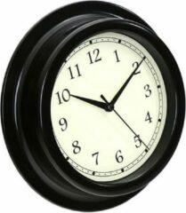 Platinet PZAU wandklok Quartz wall clock Cirkel Zwart, Wit