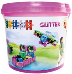 Clics Build and Play Glitter Emmer 8in1