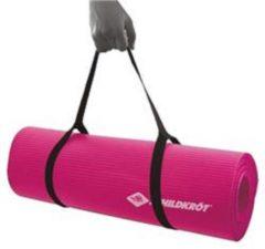 Roze Schildkrot fitnessmat - pink - 180x61x1cm