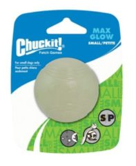 Chuckit Max Glow Ball Small 1-pack 5 cm