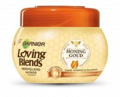 Garnier Loving Blends Honinggoud Masker Voor Beschadigd Of Breekbaar Haar